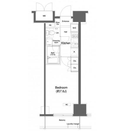 プラウドフラット白金高輪806号室