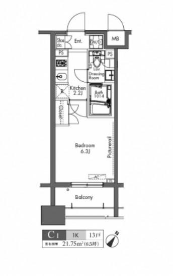 プラウドフラット三軒茶屋1202号室