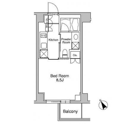 プラウドフラット南青山203号室