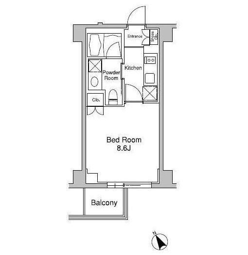 プラウドフラット南青山302号室