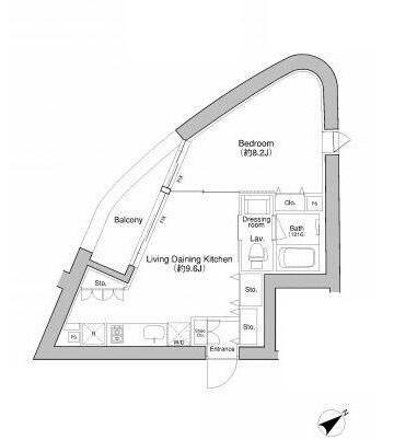 プラウドフラット新宿御苑801号室