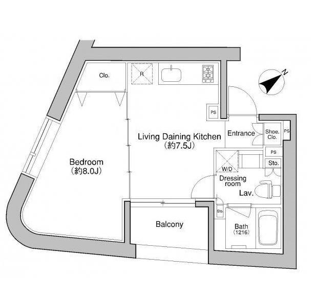 プラウドフラット新宿御苑902-0号室