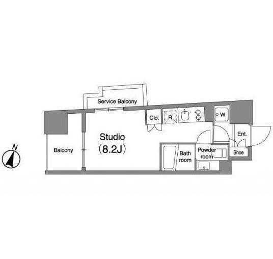 プラウドフラット笹塚301号室
