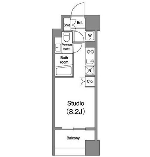 プラウドフラット笹塚802号室