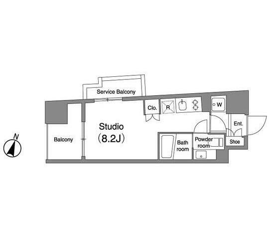プラウドフラット笹塚901号室