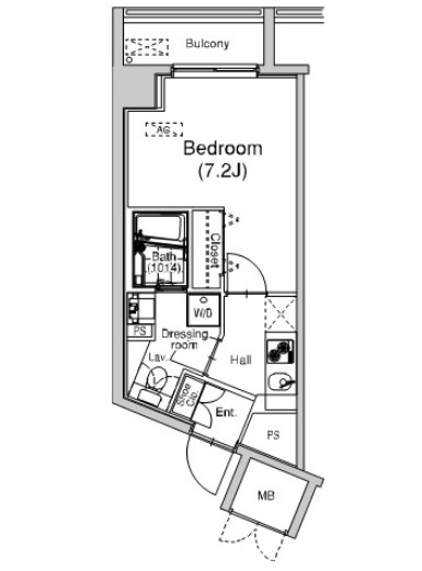 プラウドフラット仙川102号室