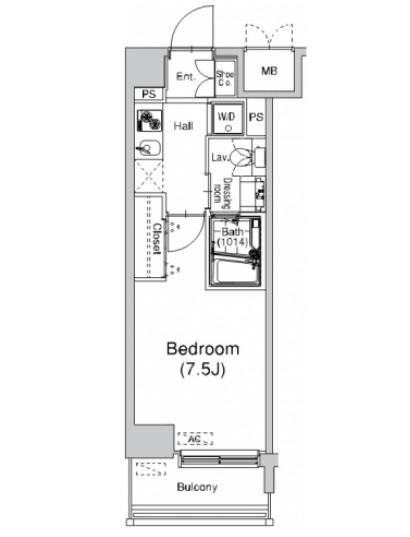 プラウドフラット仙川205号室