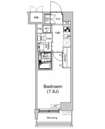 プラウドフラット仙川308号室