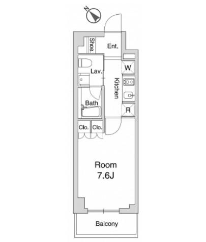 プラウドフラット仙川Ⅱ204号室