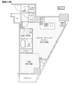 レジディア笹塚Ⅱ1508号室