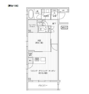 レジディア笹塚Ⅱ220号室