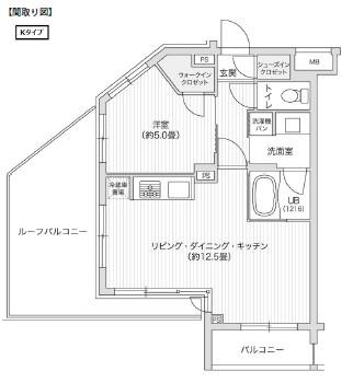 レジディア笹塚Ⅱ316号室