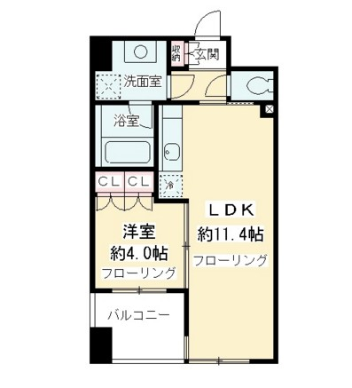 ニューシティアパートメンツ千駄ヶ谷Ⅱ1102号室