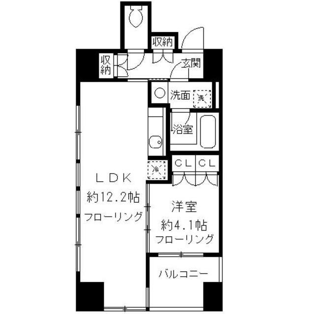 ニューシティアパートメンツ千駄ヶ谷Ⅱ403号室