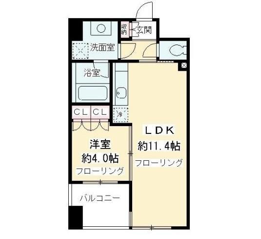ニューシティアパートメンツ千駄ヶ谷Ⅱ502号室