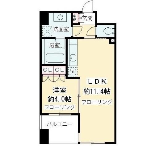 ニューシティアパートメンツ千駄ヶ谷Ⅱ602号室