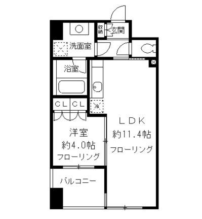 ニューシティアパートメンツ千駄ヶ谷Ⅱ702号室