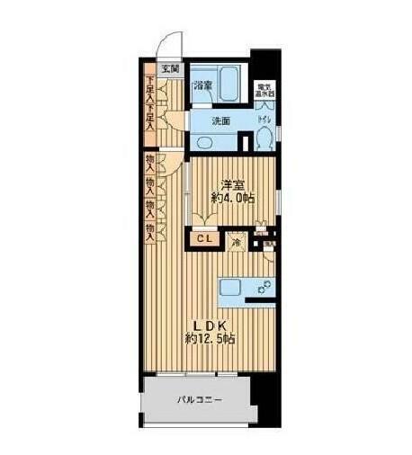 ニューシティアパートメンツ芝公園205号室