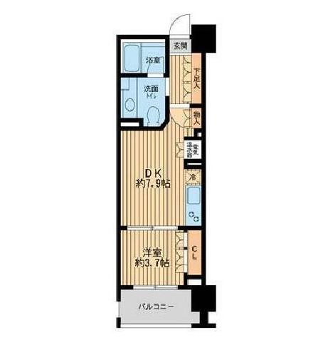 ニューシティアパートメンツ芝公園303号室