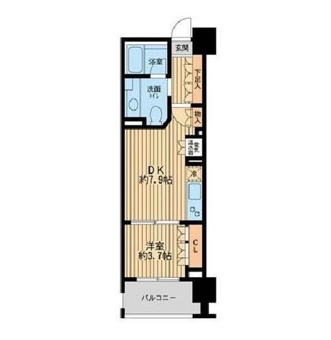ニューシティアパートメンツ芝公園403号室