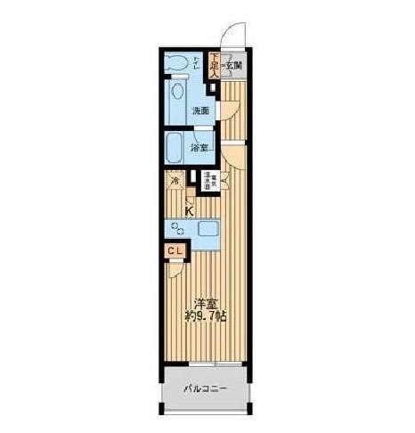 ニューシティアパートメンツ芝公園502号室
