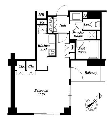 プラチナコート広尾 202号室
