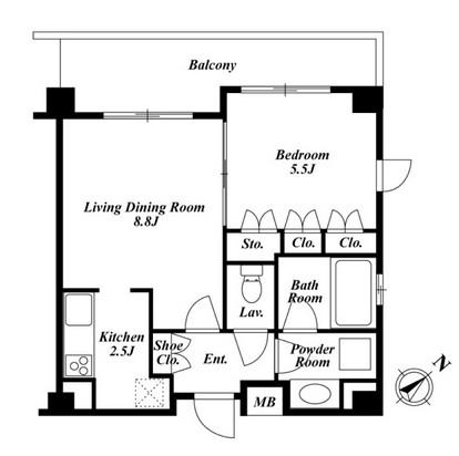 プラチナコート広尾 210号室