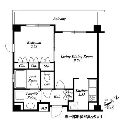 プラチナコート広尾 311号室