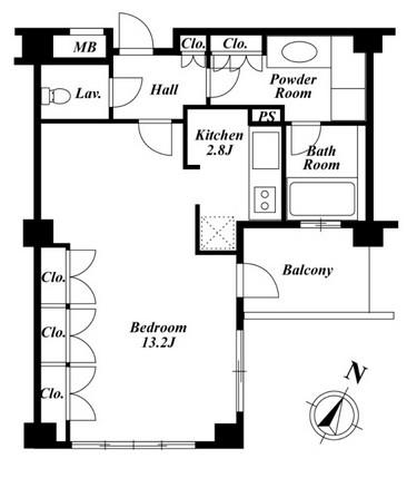 プラチナコート広尾 503号室