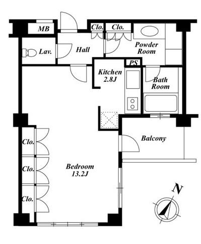 プラチナコート広尾 505号室
