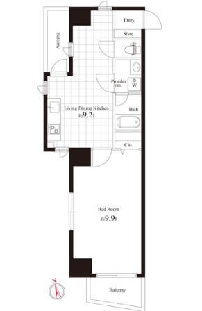 ヴィラージュ南青山205号室