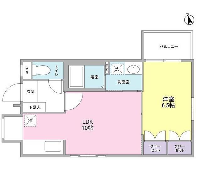 リュエル神宮前103号室