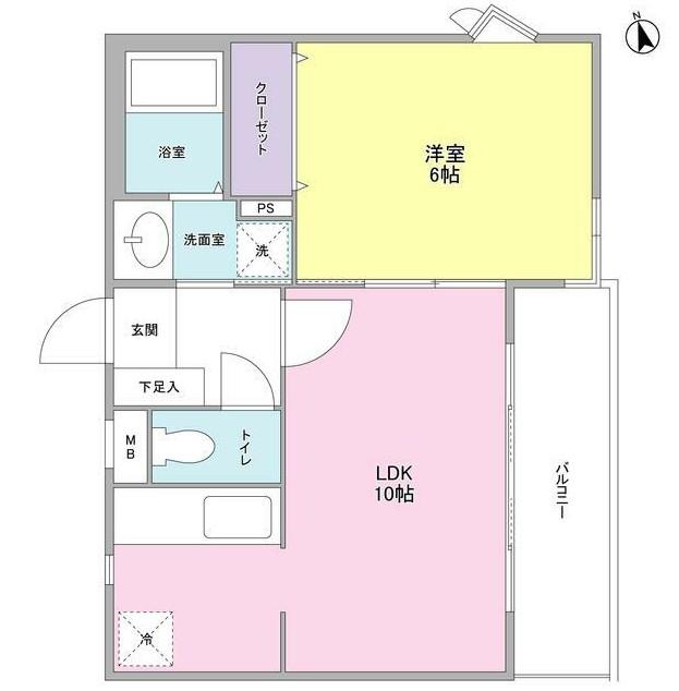 リュエル神宮前401号室