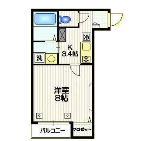 メゾン奈良203号室