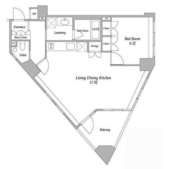 プラチナコート南麻布201号室