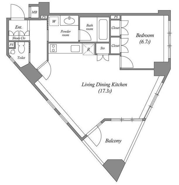 プラチナコート南麻布601号室