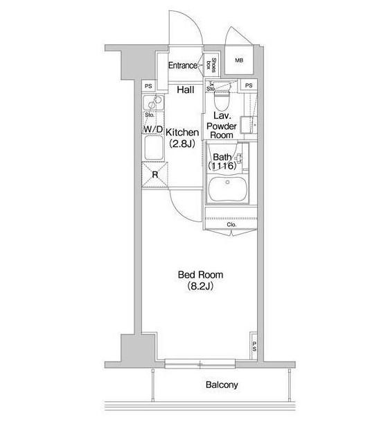 コンフォリア西新宿203号室