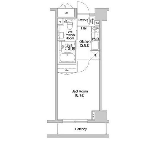 コンフォリア西新宿802号室