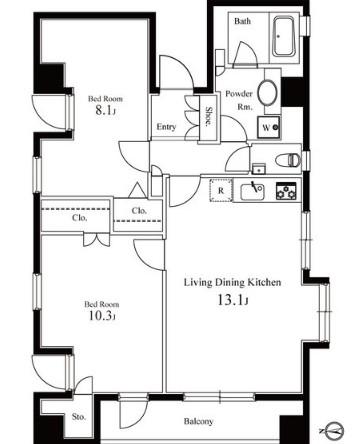グレンパーク西麻布603号室