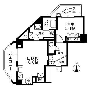 グレンパーク中落合A棟A701号室