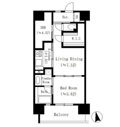 パークキューブ東品川108号室