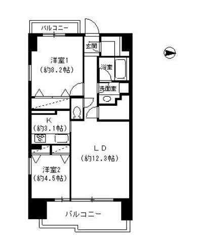 パークキューブ東品川408号室