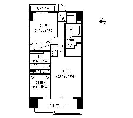 パークキューブ東品川508号室