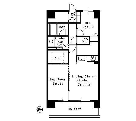 パークキューブ東品川705号室