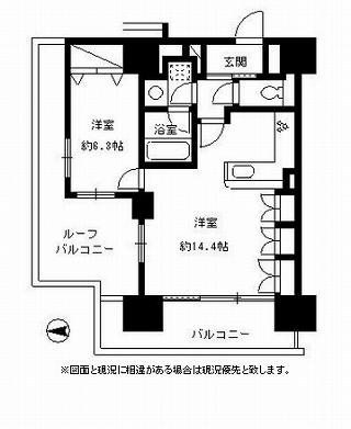 パークキューブ東品川916号室