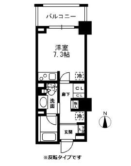 レジディア中落合B202号室