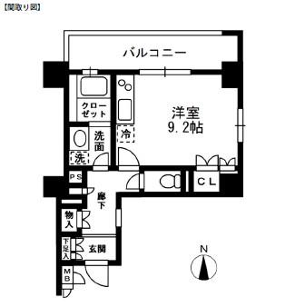 レジディア中落合A305号室