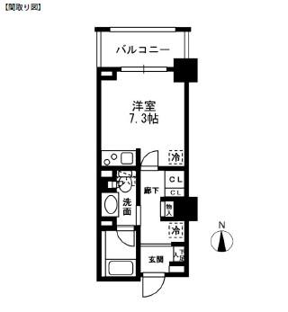 レジディア中落合B502号室