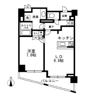 レジディア中落合A507号室