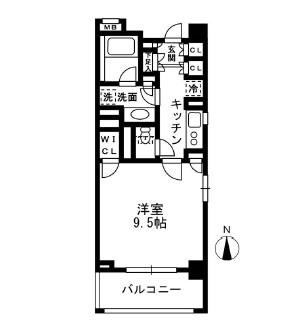 レジディア中落合B606号室